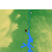 Nearby Forecast Locations - Aswan - Kaart